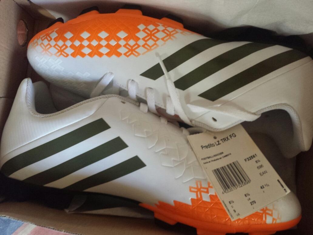 Zapatos Tacos De Futbol adidas Predito Lz Originales - Bs. 230.000 ... 22c956d109513