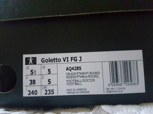 Zapato Negro Futbol adidas Goletto Negro 38 Vi 9834 Fg Talla 38 es 6ac49be - antibiotikaamning.website