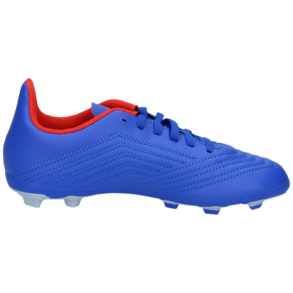 Fxg 4 Predator Fútbol Silver 19 Adidas Azul 31 Zapatos Niños Y6fgyb7
