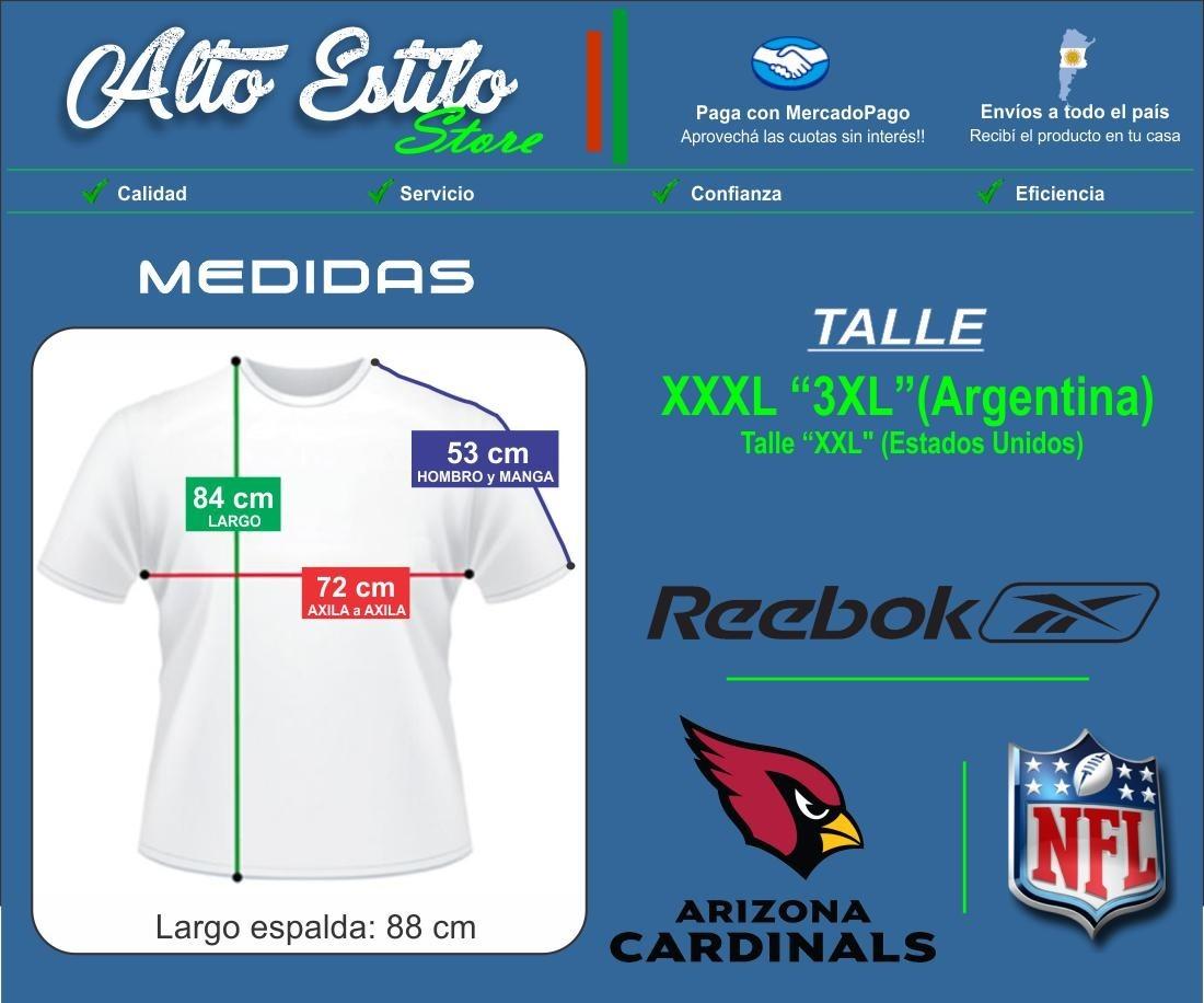 d433e011023da Cargando zoom... camiseta nfl reebok arizona cardinals xxxl 3xl ...