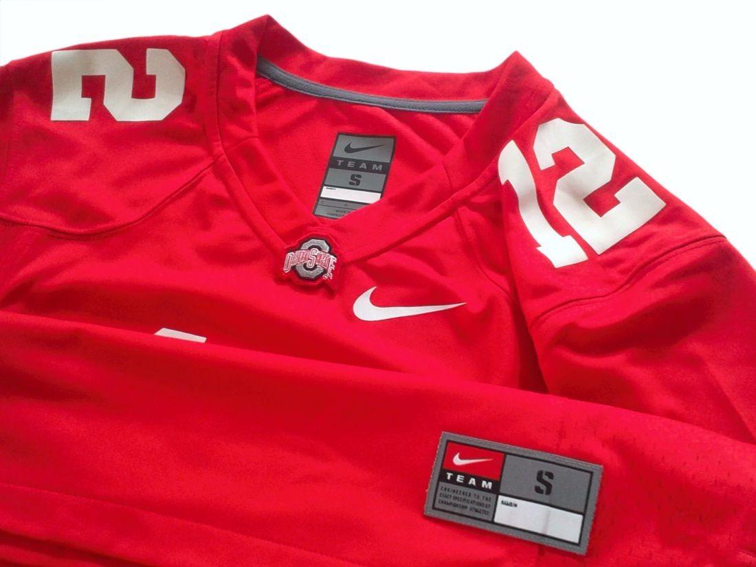0642dcabf038f Cargando zoom... camiseta futbol americano universidad ohio state nfl talle  m