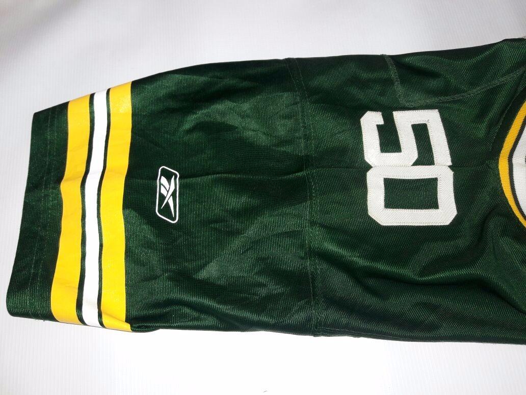 0e59c8ffbf450 Camiseta Futbol Americano Green Bay Packers Reebok 50 -   777