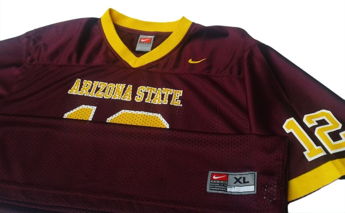 Cargando zoom... camiseta futbol americano universidad arizona state talle m 7d196206c1b