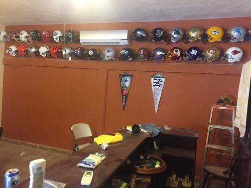 futbol americano cascos coleccion