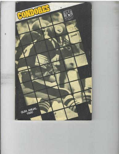 futbol americano libro de condores unam 1990