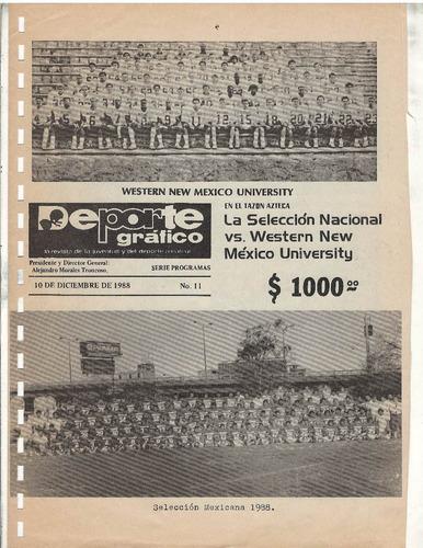 futbol americano lote de 40 programas del tazon azteca