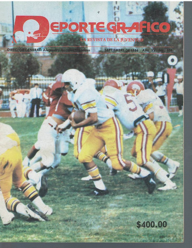 futbol americano revista deporte grafico no 555