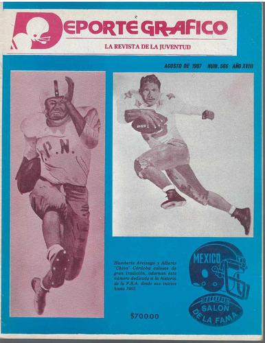 futbol americano revista deporte grafico no 566