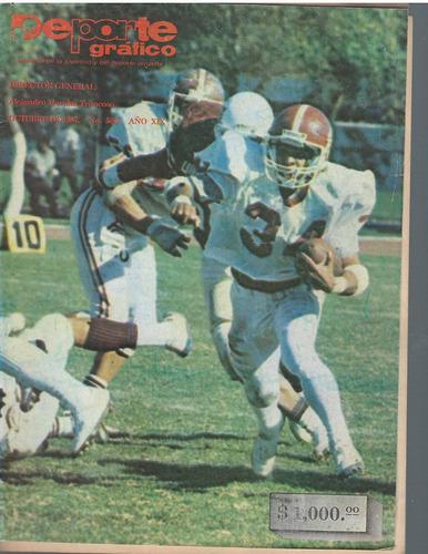 futbol americano revista deporte grafico no 568