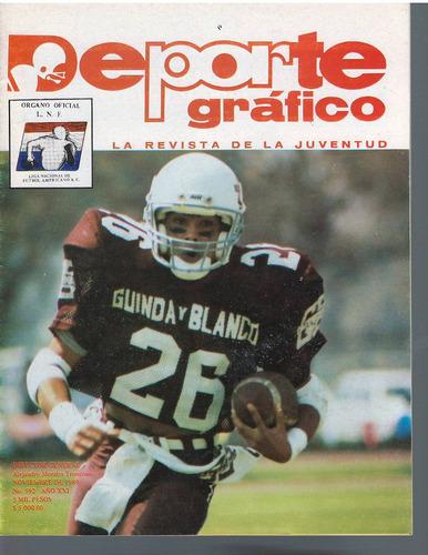 futbol americano revista deporte grafico no 592