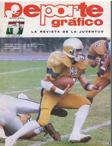 futbol americano revista deporte grafico no 593