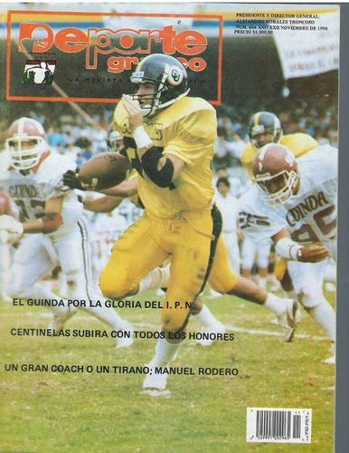 futbol americano revista deporte grafico no 604