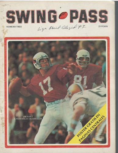 futbol americano revista swing pass 1977 no 3