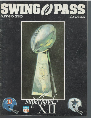 futbol americano revista swing pass 1977 no 5