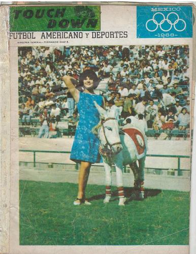 futbol americano revista touchdown 1966 no7