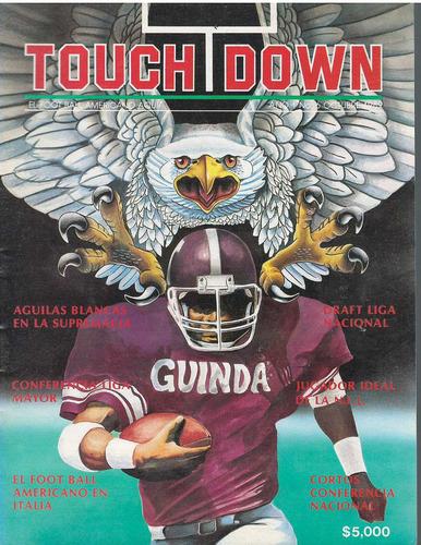 futbol americano revista touchdown octubre 1989
