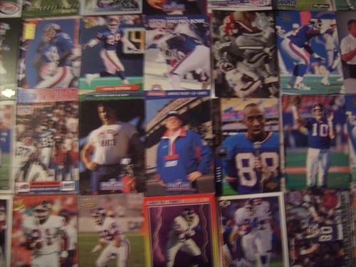 futbol americano tarjetas