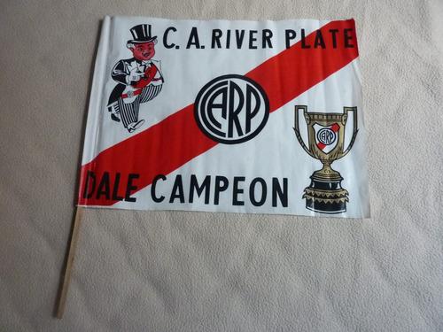 futbol antigua bandera de river plate