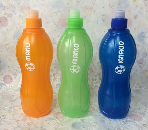 futbol  botella plastica deportiva