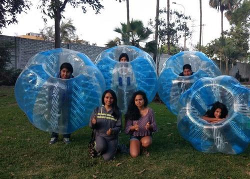 fútbol burbuja : vive una experiencia nueva (alquiler)
