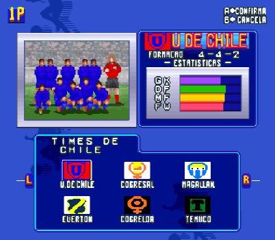 futbol chileno 96 - super nintendo - juego - snes