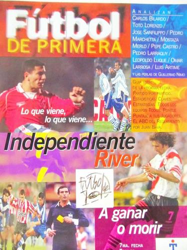 futbol de primera año 1 nro 6 independiente river