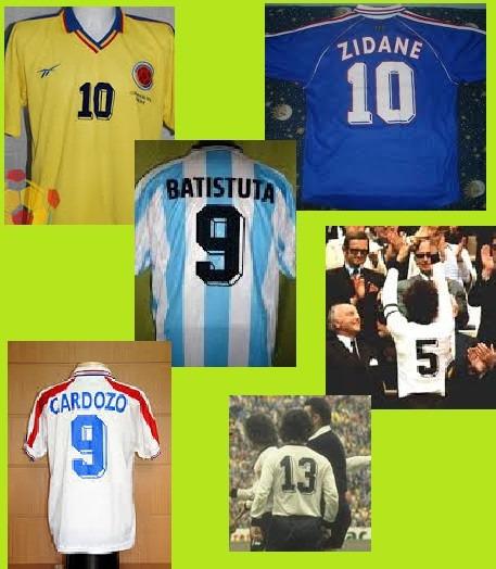 38a9fa6ca2b4c fútbol estampado números · números camisetas fútbol estampado mod 80 90  diseño retro