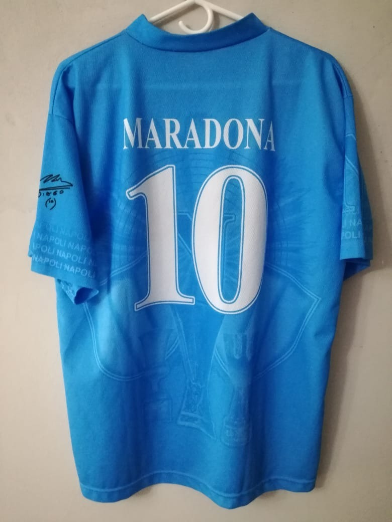 2d6dd7b914829 Camiseta De Fútbol Napoli - Maradona. Envío Gratis -   590