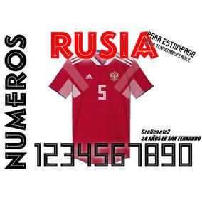 2e788ec8c53ed Letras Termoadhesivas Para Camisetas De Futbol Estampados - Fútbol en  Mercado Libre Argentina
