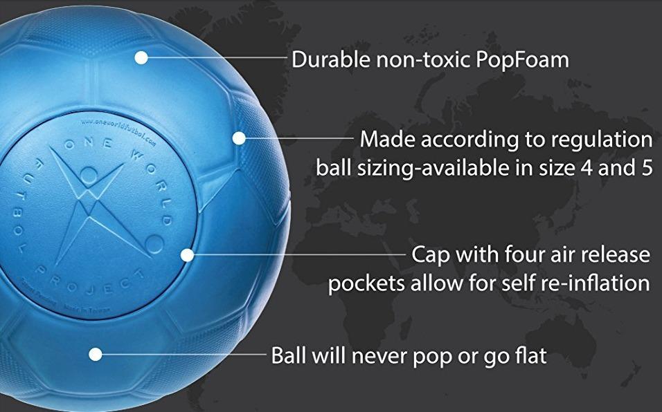 7abd0e43b7c0d Cargando zoom... balon de futbol numero 4 one world indestructible e imponch  · balon futbol one