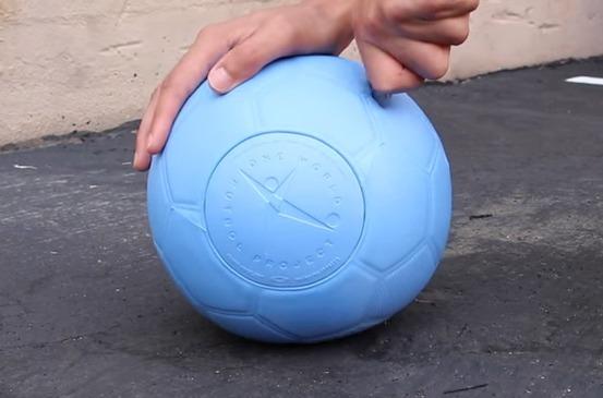 2bee2951b6a58 balon de futbol numero 4 one world indestructible e imponch · balon futbol  one · futbol one balon