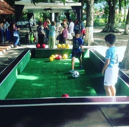 fútbol pool cancha para eventos, fiestas, reuniones