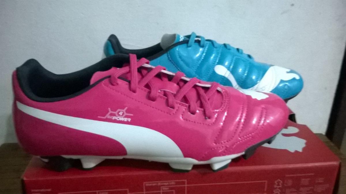 fe62723177e5e Tacos Guayos De Futbol Puma Talla 32 - Bs. 140.000