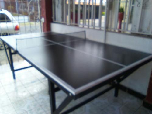 futbolin, mesas de ping pong, pool y hockey