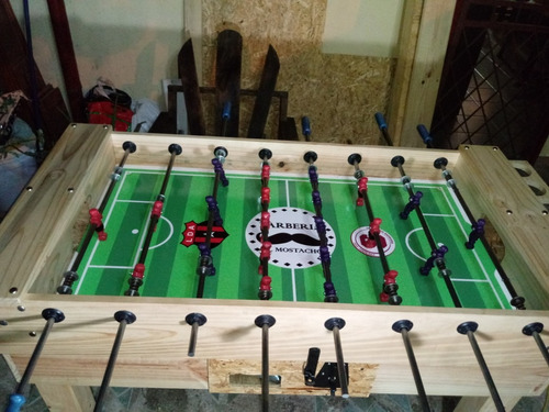 futbolin nuevo con monedero se fabrican
