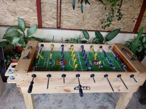 futbolin  para hogar se fabrican