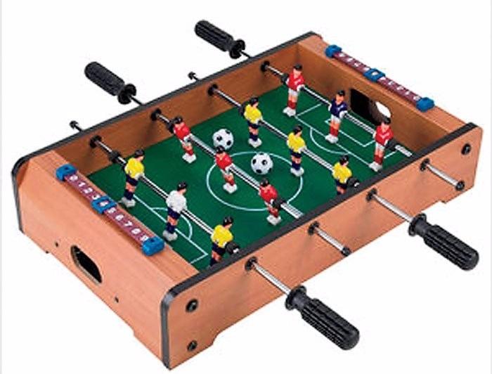 Futbolito de mesa con 12 jugadores c 2 pelotitas mdf for Mesa futbolito
