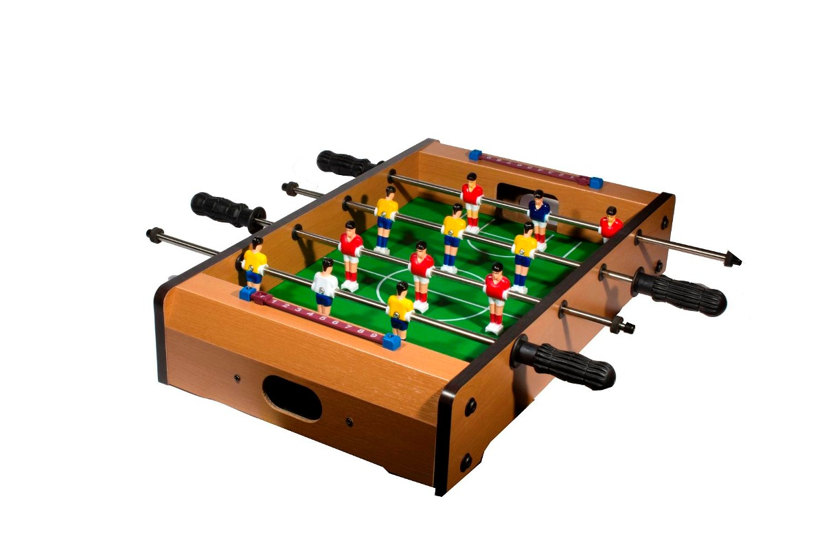 Futbolito De Mesa Para 2 Jugadores Incluye 2 Balones 699 00 En