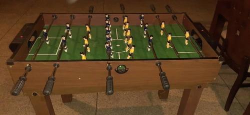 futbolito de mesa, pool y multijuegos