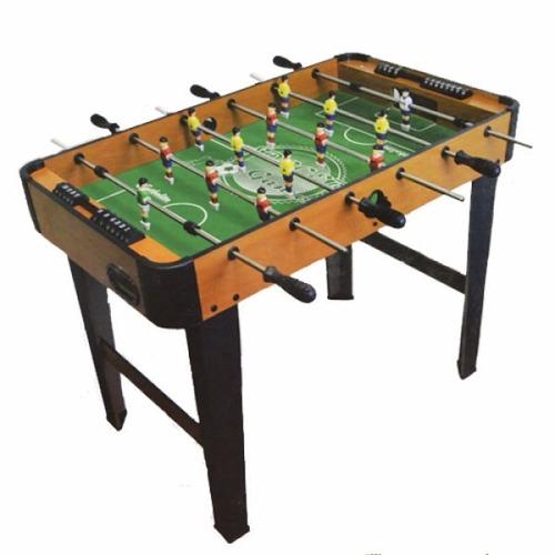 Futbolito mesa de madera 2 en mercado libre for Mesa futbolito