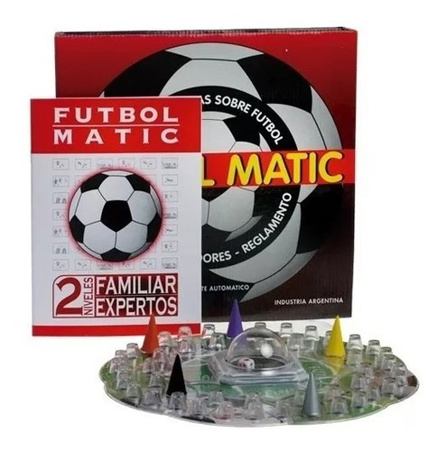 futbolmatic el autentico con cubilete automatico original