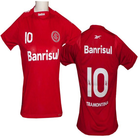 3bcb2164222 Camisa Internacional Feminina Reebok - Futebol no Mercado Livre Brasil
