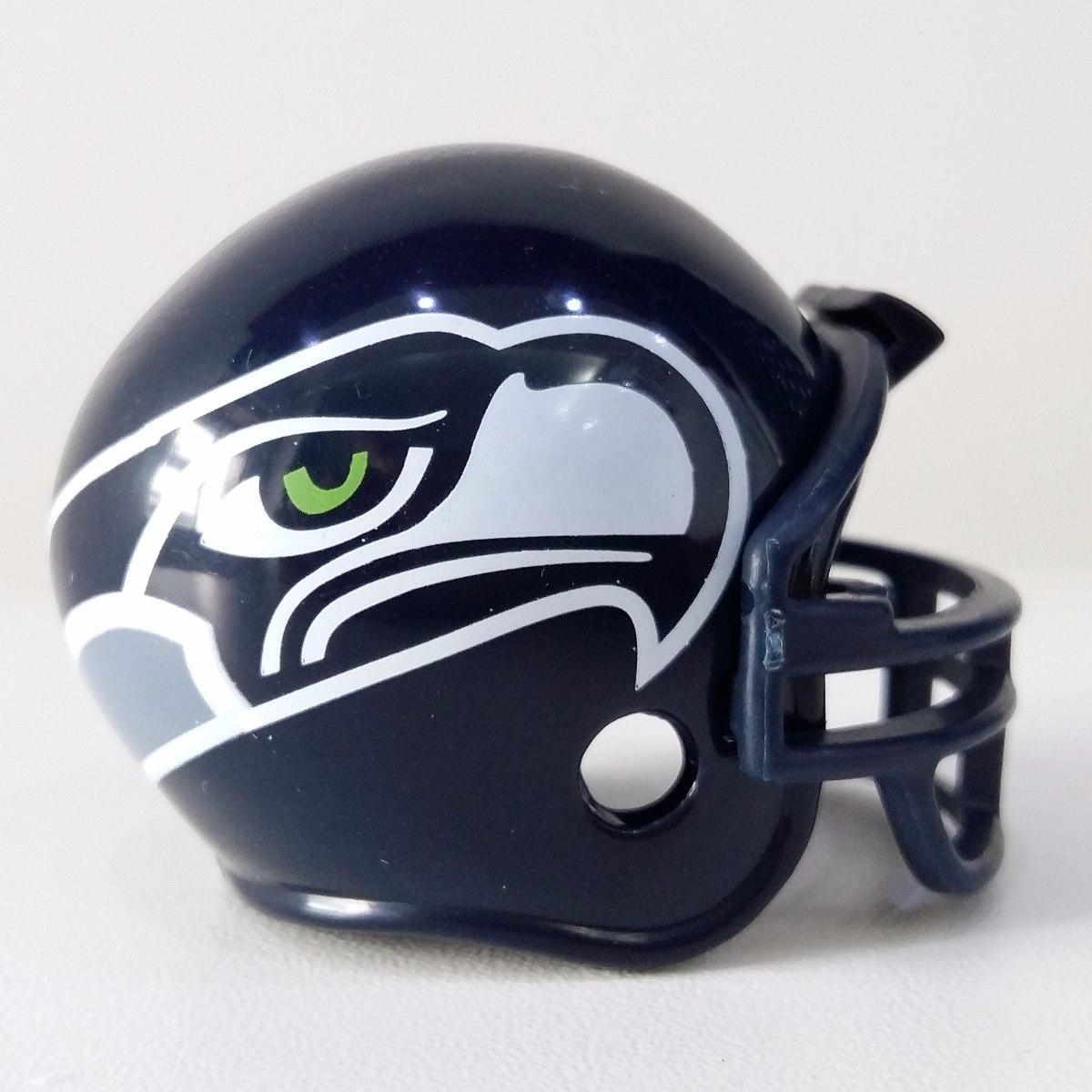 Mini Capacete Futebol Americano Nfl - Seattle Seahawks 5cm - R  24 ... 80fc9addd073c