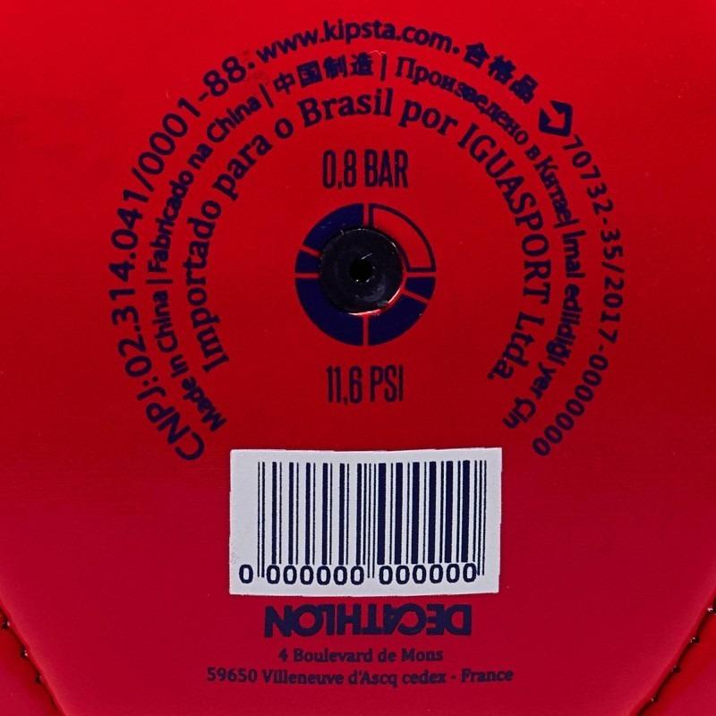 e0d48f7220d19 Bola De Futebol De Campo Tamanho 5 Vermelha Kit Com 5 Bolas - R  279 ...