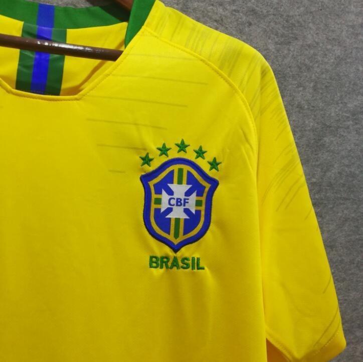 futebol brasil camisa 4 camisa de futebol do brasil 2018 (copa ... 58478c46b87f0