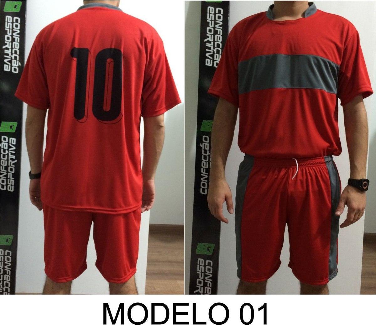 0fed191c745dd Uniforme Futebol 18 Camisas Futebol Dry Sport W3 - R  450