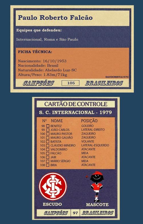 Futebol Cards 4 Times Internacional + Brinde Mod. Ping Pong - R  119 ... 0a4aa190f5de9