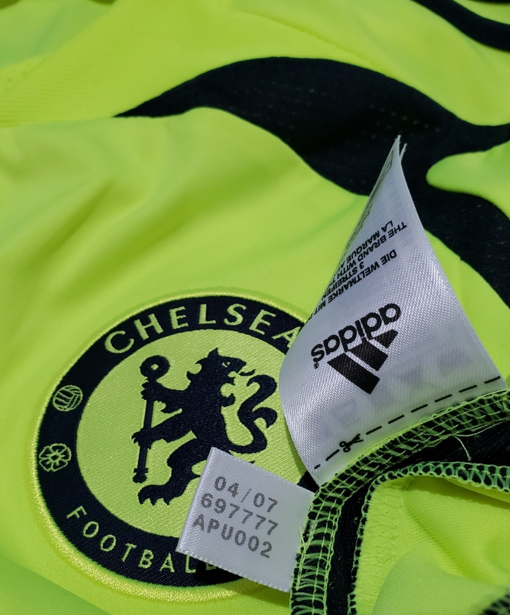 5fa013db9663c Camisa Futebol Oficial Chelsea Inglaterra 2007 Away adidas - R  179 ...
