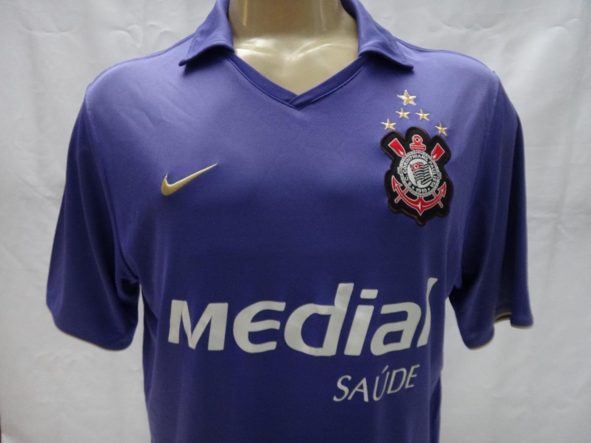 Carregando zoom... camisa de futebol do corinthians   10 2008 nike medial  roxa 12911801c3162