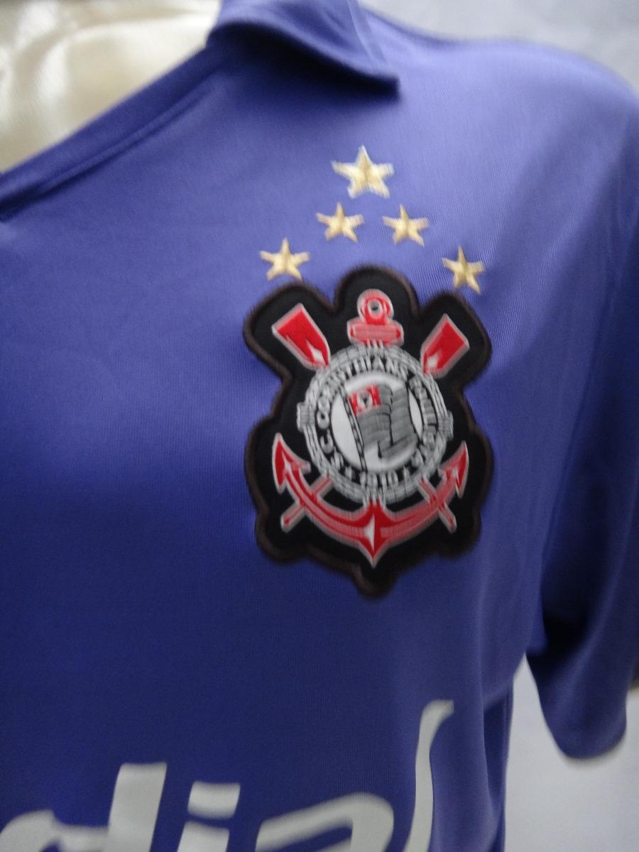 Camisa De Futebol Do Corinthians   10 2008 Nike Medial Roxa - R  129 ... 56cb42b363682